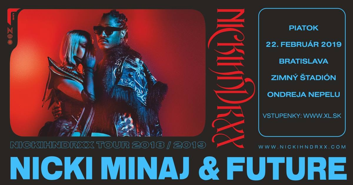 Nicki Minaj & Future Bratislava 2019