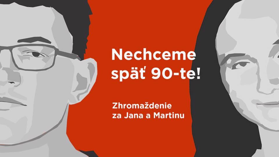 Pochod za Jána Kuciaka