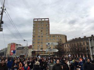 Namestie-SNP-protest-Bratislava
